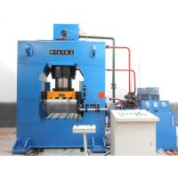 Multi Directional 40 Ton Hydraulic Press , Steel Extrusion Press For TubeFitting