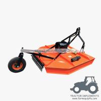 6RCM - Tractor Mounted 3point Rotary Cut Mower with PTO Shaft driven with Real wheel