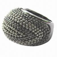 Buy cheap Plating ring, bead chain design product