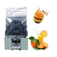 Buy cheap Stainless Steel Citrus Orange Juice Maker Machine 20-22 Oranges Per Mins from wholesalers