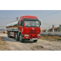 China Liquid Tank Truck Dongfeng 8x4 Faw Chemical Capacity 24700l For Fuel Transport on sale