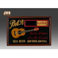Buy cheap Open And Close Signs Special Wooden Wall Plaques For Shops product