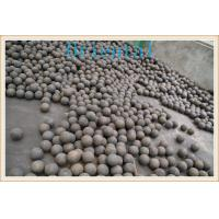Buy cheap Ball Mill Steel Balls , Grinding Media Ball For Iron / Copper Ore Industry from Wholesalers