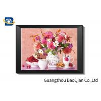 Buy cheap Eco - friendly Flowers 3D Lenticular Pictures For Home Decoration A3 A4 Size product