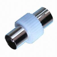 Buy cheap 9.5mm TV plug to TV plug, made of plastic from wholesalers