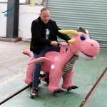 Buy cheap Remote control animatronic walking dinosaur ride product