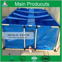 Buy cheap New design portable movable flexible cube structure 2000 liter scaffold fish tank product