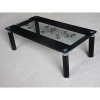 chromed-plated/tempered glass tea/coffee table A065