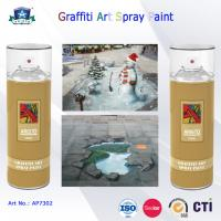 400ml Canned Environmental Fast Drying Graffiti Spray Art Paint for Artist On Metal Wood