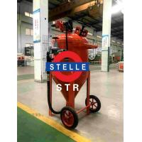 Buy cheap Wet Mobile Dustless Blasting Equipment Oil Containment Coating Paint Removing product