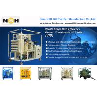 Buy cheap NSH Transformer oil filtration Machine, oil recycle, oil purification, oil regeneration, VF/VFDVFD-R,Outdoor use, traile product