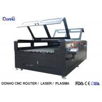 Buy cheap Double Protective Cover Co2 Laser Cutting Machine For Fabric / Crystal / Acrylic / Wood product