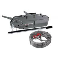 Buy cheap 8/12.5kn Electrical Cable Pulling Tools HSS Hand Wire Rope Winch Iso Standard product