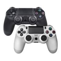 Buy cheap Bluetooth Wireless Joystick for PS4 Controller Gamepad Double Shock for Playstation 4 Black and White Color product