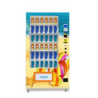 China Automated Flop Slippers Shoe Vending Machine Metal Frame 870 * 830 * 1930MM on sale