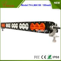 Buy cheap 27.2 inch 150W CREE LED light bar single row in optional spot/flood/combo beam type product