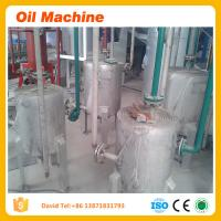 China High oil yeild rate peanut oil refinery plant on sale