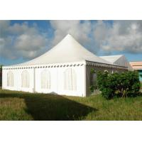 China Enclosed Outdoor Event Tents Pagoda Tents , Instant Canopy Tent With PVC Fabic on sale