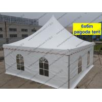 Buy cheap Mini Waterproof High Peak Tents / Peak Pole Tent With Transparent Sidewalls product