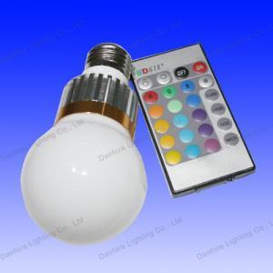 China RGB LED Bulb (DF-RGB-GB60-02) on sale