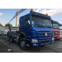 Buy cheap HOWO 76 Cabin Prime Mover Truck Manual Transmission D12.42 420HP Engine product