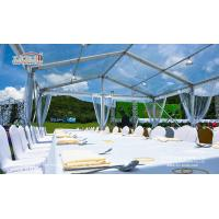 Buy cheap 10X15M Transparent Event Tent with Clear Top Cover for high end Golf Event product