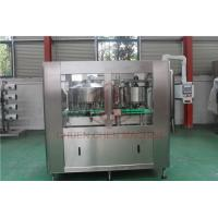 Buy cheap Juice Bottle Beverage Can Filling Machine With Shrink Wrap Packaging Machine product