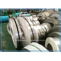 Buy cheap Bright Annealed Stainless Steel Strip Coil  BA Finish High Precision SUS Divider product