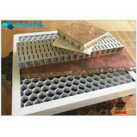 Buy cheap 28mm Thickness Eco - Friendly Aluminum Honeycomb Core Panels Curtain Wall Board product