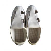 Buy cheap White Color Unisex PVC Four Hole Esd Cleanroom Shoes product
