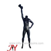 Buy cheap Jolly mannequins-black color headless dumbbell female mannequin JY-0043 product