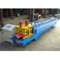 Buy cheap Customized Roofing Ridge Cap Roll Forming Machine GI / PPGI Raw Material product