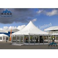 Buy cheap UV Resistant Pagoda Replacement Canopy With Sandwich Panel Walls And ABS Walls product