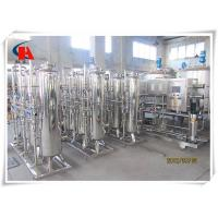 Buy cheap Reverse Osmosis Industrial Water Treatment Systems High Flow For Ground Water product
