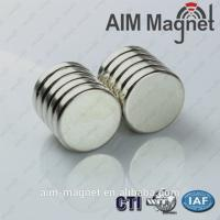 Buy cheap N52 Disc Strong 8x3mm Neodymium magnets product