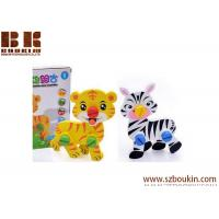 China DIY 3D Cartoon Animals Changeable Nut Combination Early Educational Wooden Puzzle Toys for Kids on sale