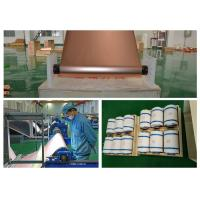 Red 12um Thin Graphene CopperRoll , RoHS Approval Copper Metal Sheets