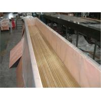 Buy cheap JIS H3300 ( C6870 ) Seamless Copper Tube 2 inch , 1 inch Small Diameter For Condenser product