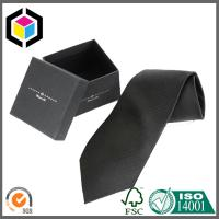 Silk Screen Print Color Logo Boutique Cardboard Gift Tie Packing Box