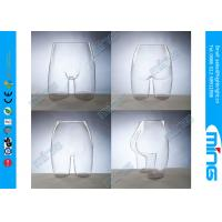 Buy cheap Custom Fashion Display Female Sexy Hip Mannequin for Adults , PC Transparent product