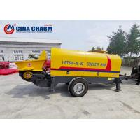 China One Year Warranty Trailer Mounted Concrete Pump HBTS60 High Reliability on sale