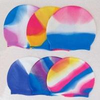 Buy cheap Nontoxic/Comfortable Swimming Cap, Available in Various Printed Designs product