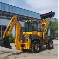 Buy cheap 2.5 Tons Caterpillar Backhoe Loader 1.0M3 Loading Bucket Capacity product