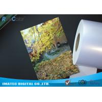 Buy cheap High Glossy Metallic Inkjet Media Supplies 260gsm Resin Coated Inkjet Photo Paper product