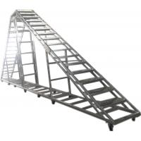 Buy cheap Splice / Burliness Aluminum Walking Stair , Portable Stage Platform For Art House product