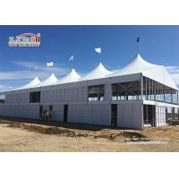 Events Outoor Clear Span Tents Aluminum Frame With Solid Walls