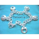 China Whloesale TIFFANY Stencil Charm Bracelet. 7.5 for sale
