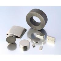 Buy cheap N40 Neodymium Motor Magnets With Single Nickel High Power product