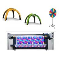 Buy cheap 3.2m Multi Color Flag Fabric Plotter Banner Sublimation Plotter With Piezo Inkjet product