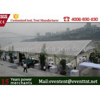 Buy cheap Large Transparent Party Tent With Glass Wall , Clear roof marquee For Wedding SGS from Wholesalers
